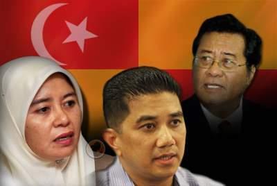 Faekah-Husin-Azmin-Ali-Khalid-Ibrahim-Selangor