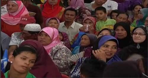 Majlis Bersama Rakyat dan Pecah Tanah Masjid Baru di Lupak Meluas, Batu Sapi