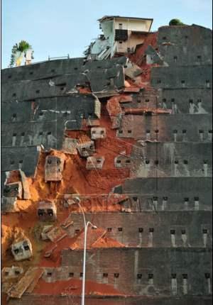 tanah runtuh Bukit Setiawangsa 1
