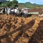 Tanah Runtuh Cililin Bandung Barat
