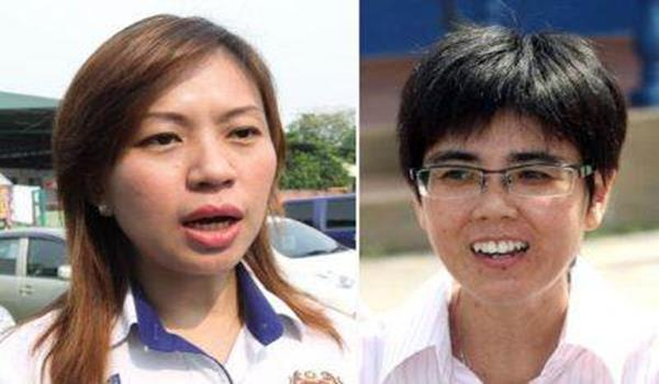 In the fight: Beliawanis Selangor MCA chief Ooi (left) is set to contest the Kuala Kubu Baru state seat against DAP's Lee Kee Hiong.