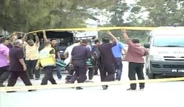 Anggota Polis Maut Dihentak Dengan Besi