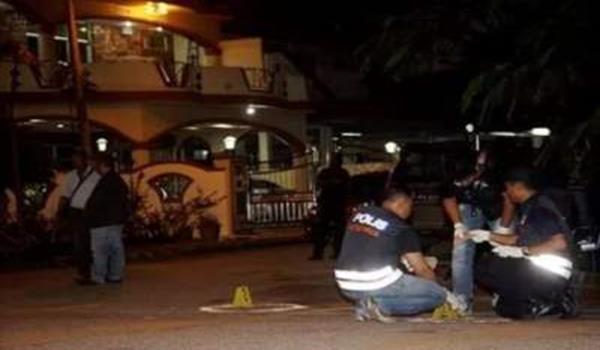 Pemilik restoran nyaris maut ditembak 2