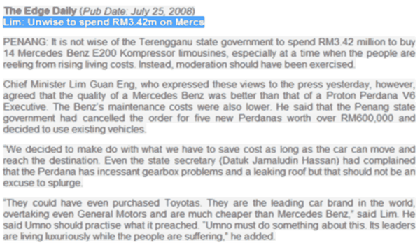 Unwise to spend RM3.42m on Mercs