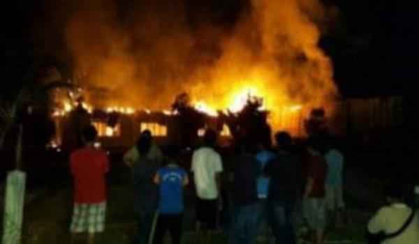 Maahad Tahfiz Muhammadiah Bukit Rangin terbakar