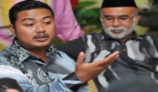 Mohd Shamsul ketika sidang media di Kuala Besut meminta Hadi dedah siapa edar pil kuda
