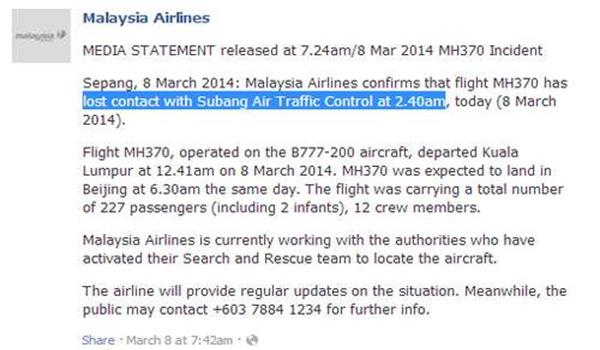 MH370-mas-media-statement-1st-day