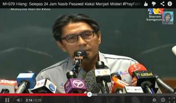 Ketua Pengarah Jabatan Penerbangan Awam (DCA), Datuk Azharuddin Abdul Rahman