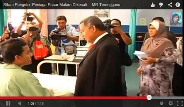 Sikap Pengotor Peniaga Pasar Malam Dikesali MB Terengganu