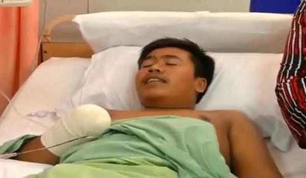 Remaja Putus Pergelangan Tangan Akibat Mercun Di Pasir Mas Kelantan