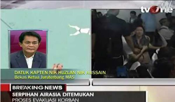 AirAsia QZ8501 Pesawat Mungkin Pecah Di Udara