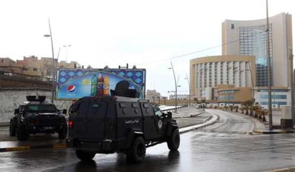 IS Serang Hotel Mewah Tripoli-