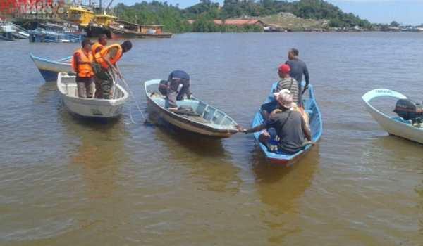 Bot karam Sungai Kemena Bintulu