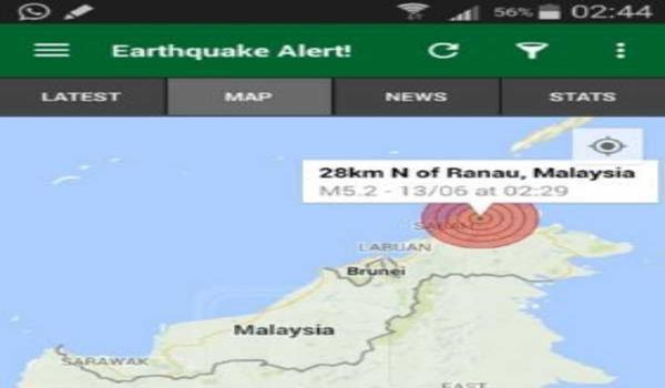 gempa-sabah-kota-kinabalu
