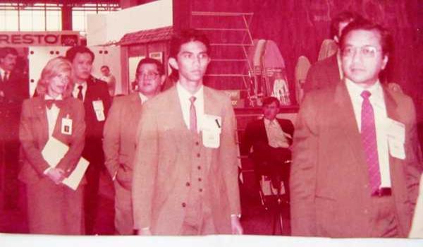 Hubungan rapat Mahathir dan Azmin semasa beliau masih menjadi Perdana Menteri