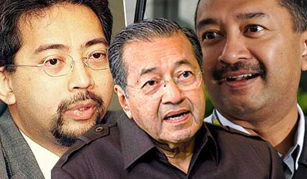 Mahathir-Mohamad-Mokzani-Mahathir-Mirzan-Mahathir
