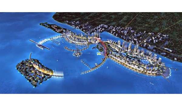 皇京港计划的设计图