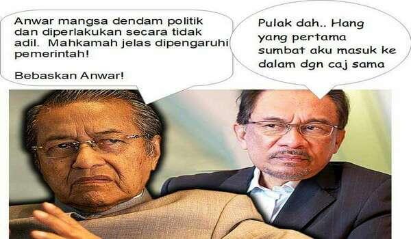 Yang Tidak Malu, Sebenarnya Adalah Mahathir