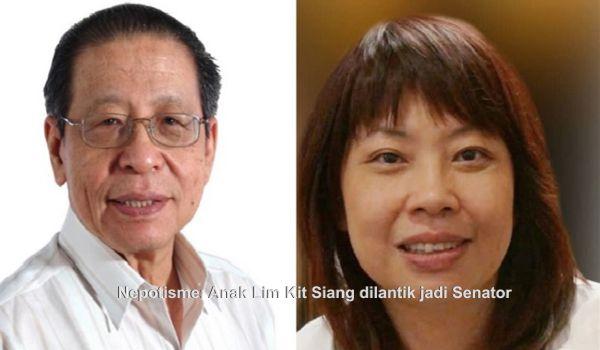Nepotisme: Anak Lim Kit Siang dilantik jadi Senator